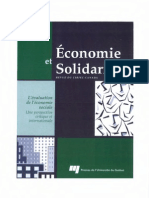 CIRIEC 2008 - L'Evaluation de l'Economie Sociale, Une Perspective Critique Et Internationale