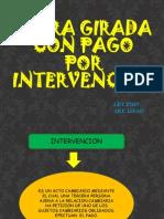 Letra Girada Con Pago Por Intervencion 1ra 10-01-2014
