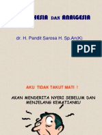 Anestesi Dan Analgesi