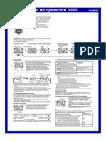 Manual Casio 3095