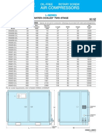 Kobelco Knw L-series Water Cooled Compressor Datasheet