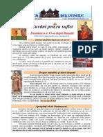 307. D33R Vamesul Si Fariseul; Inceputul Triodului