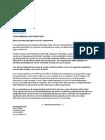 60 Persbericht GBPN 07-02-2014 (Motie Van Afkeuring)