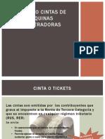 Tickets o Cintas de Maquinas Registradoras