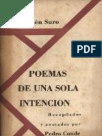 Ruben Suro, antología poética.