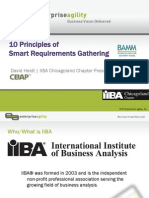 10 Principles of Smart Requirements Gathering v1