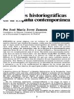 Corrientes historiográficas en la España contemporánea (J. M. Jover Zamora)