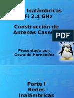 Wifi Flisol 2009 Oswaldo Hernandez