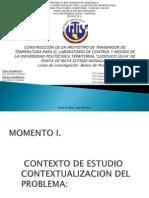 Presentacion Proyecto Tansmisor de Temperatura.