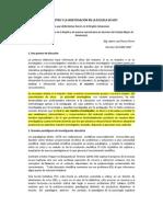 EL MAESTRO Y LA INVESTIGACIÓN EN LA ESCUELA DE HOY CMAJCM