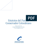 Estatutos Partido Conservador 2013