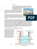 Passive Down Draft Evaporative Cooling