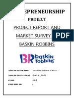 Baskin Robbins Project