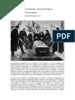 LOS CLAVOS DEL ATAUD DE ESPAÑA (I)