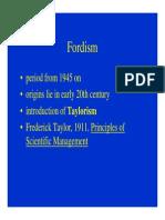 Fordism