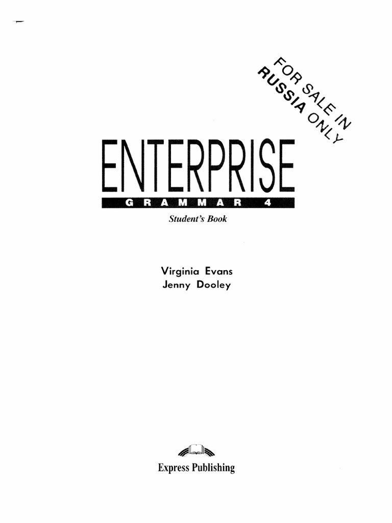 enterprise 2 grammar book