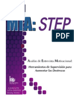 Miastep Manual Spanish