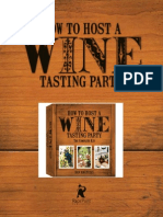 How to Host a Wine Tasting Party by Dan Amatuzzi, an excerpt including food and wine pairing
