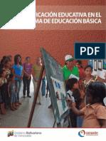 La Planificacion Educativa en El Subsistema de Educacion Basica