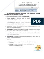 3 - Ficha Informativa - Determinantes