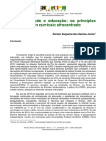 Afrocentricidade e educação