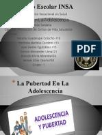 La Pubertad En La Adolescencia.odp