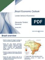 Apresentação do PresidenteTombini na London School of Economics
