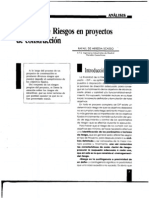 Gerencia de Riesgo en Construcciones
