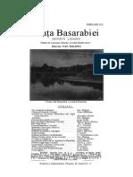 1 Viaţa Basarabiei — februarie 1932