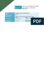 Infosys 110 Assignment 2 SS 2014