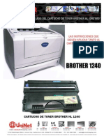 Brother 1240 Remans Pan