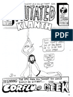 Mutated Klanth chapters 1 & 2