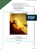 Biografía de Justo Sierra