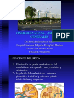 Revision de La Fisiologia Renal