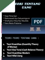 Teori Tentang Uang