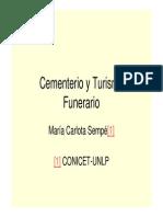 Cementerio y Turismo Funerario Temat 13 1830 Sempe