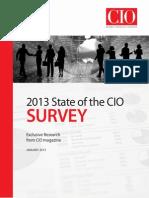 2013 State of the CIO Exec Summary