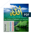 Four Stations of Believers by Prof.  Ghulam Azam