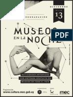 Programacion Noche Museos