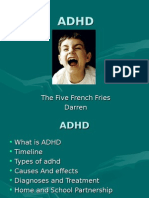 The Five French Fries Darren