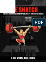 Olm Snatch Manual