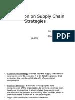 UPS Supply Chain Strategies