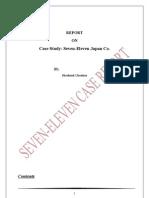 Seven Eleven Case Analysis