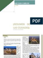 Resumen de Ciudades