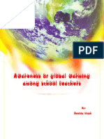 Concept Note on awareness of Gloabl warming among School Teachers