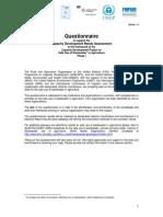 Cuestionario FAO