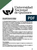 10. Universidad Nacional de Quilmes