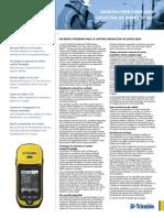 Especificaciones GPS - Trimble - Serie 6000