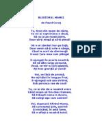 blestemul mamei de pavel corut
