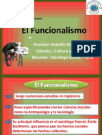 Modelo Funcionalista
